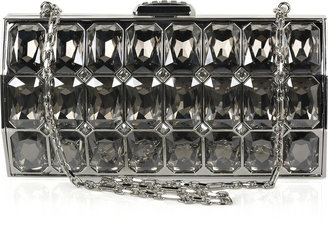 Judith Leiber Radiant Cut crystal-embellished clutch - Spring&#39;s Trendy Purses