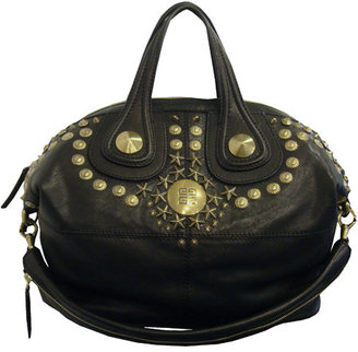 Givenchy Medium Nightingale With Studs In Black - Studded Shoulder Bag