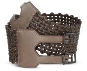 Basket Cord Waist Belt - Accessories