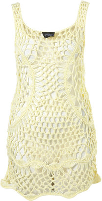 Crochet Vest Cover Up - Topshop