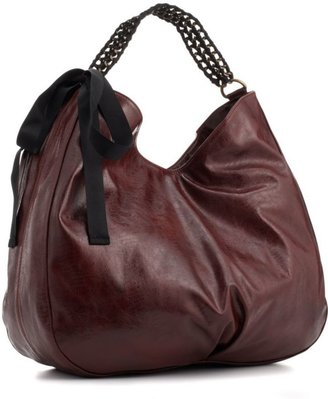 Steve Madden Handbag, Woven Chain Hobo - Great Chains