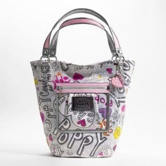 Bella Graffiti Tote - Handbags