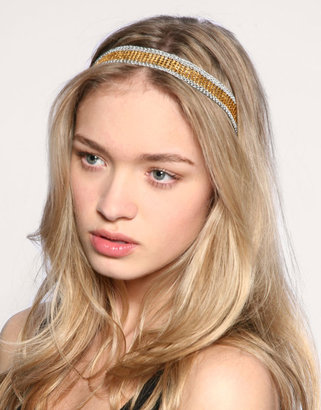 ASOS Bead And Macrame Mix Headband - Headband