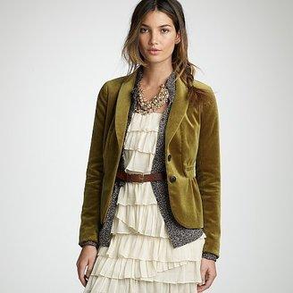 816ddb897161 J Crew - velvet Eden blazer - Gigi's Gone Shopping