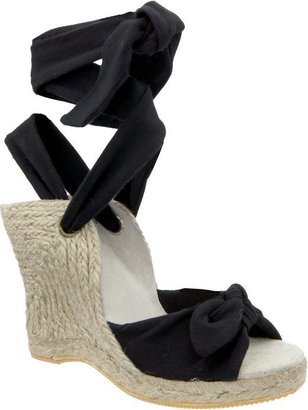Women&#39;s Knotted Jersey Espadrilles - Heels