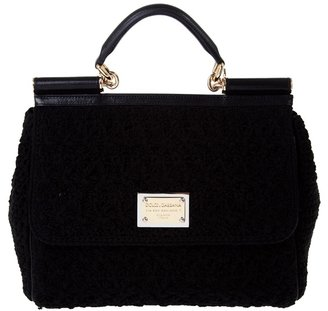 DOLCE & GABBANA - Macramé flap bag - Dazzling Dolce and Gabbana Handbags