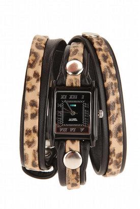 La Mer Leopard Layer Watch - Animal Instinct