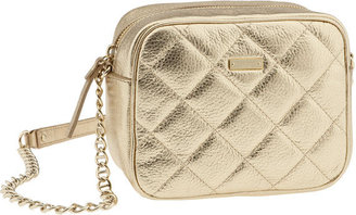 Kate Spade 'gold Coast April Lauralee' Shoulder Bag - Quilted Leather Bag