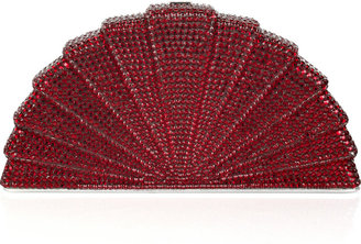 Judith Leiber Tessen fine crystal-embellished clutch - Judith Leiber