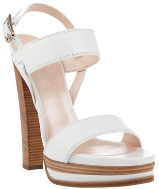 CASADEI - Leather strap sandals - Platform Sandals