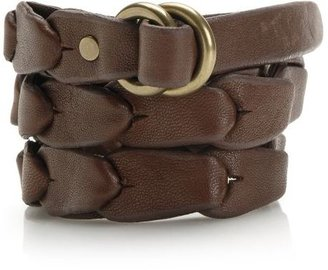 Linked Leather O-Ring Belt - Lucky Brand