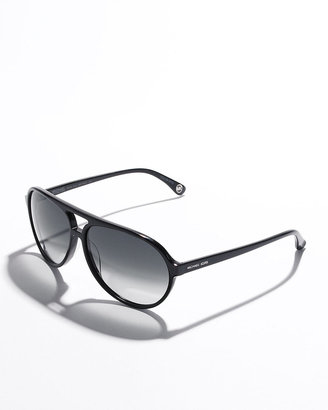 MICHAEL KORS Santa Cruz Plastic Aviators - Michael Kors
