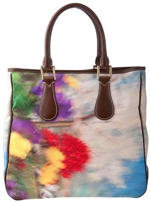 PAUL SMITH - Floral print &#39;Frankie&#39; tote bag - Printed Leather Handbags