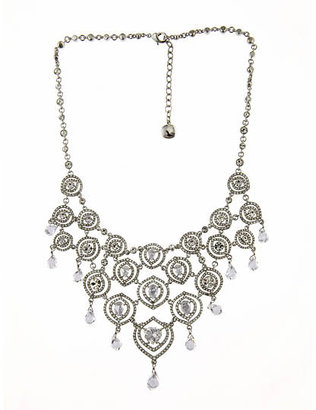 Carolee Crystal Bib Necklace - Carolee