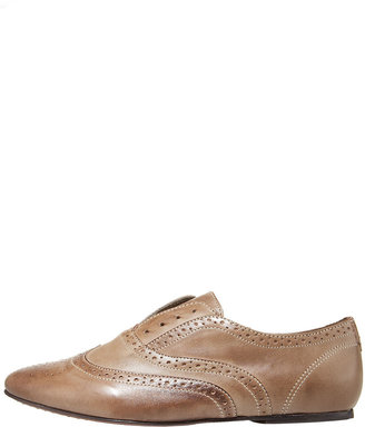Joie Louie Louie Vintage Slip-On - Boyish Brogues