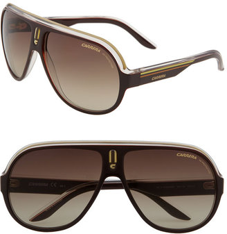 Carrera Eyewear &#39;Speedway&#39; Aviator Sunglasses - Shield Sunglasses