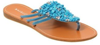 Women's Bamboo by Journee Embellished Upper Sandal - Target
