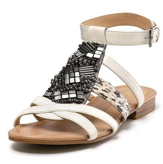 House of Harlow 1960 &quot;Sienna&quot; Flat Sandals - Summer&#39;s Hottest Gladiator Sandals