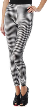 Gingham Cotton Lycra Leggings - Pajamas &amp; Intimates