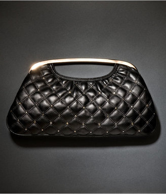 Quilted Cutout Handle Clutch - Express