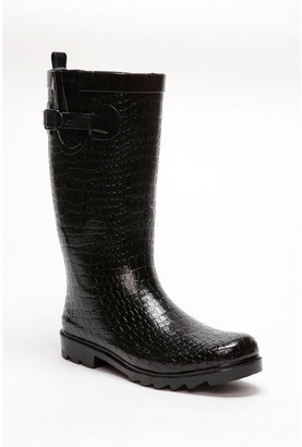 3384f67c624 Urban Outfitters has this look for less with these Croc Printed Rainboots