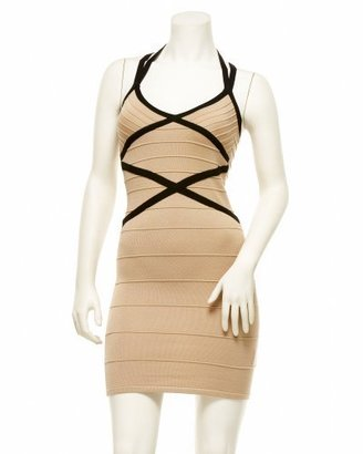 2b Criss Cross Banded Dress - Cocktail Dress