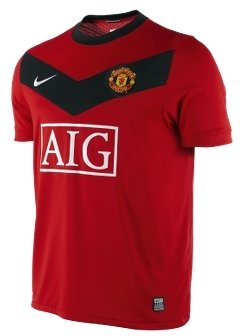 2009/10 Manchester United Home Men's Soccer Jersey - Manchester United Fan T-Shirts