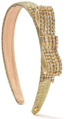 Juicy Couture Rhinestone Embellished Headband - Accessories