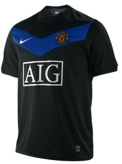2009/10 Manchester United Away Men's Soccer Jersey - Manchester United Fan T-Shirts