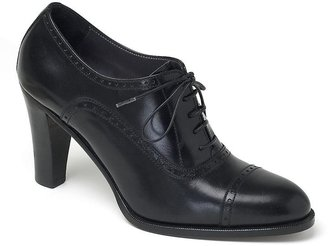 Captoe High Heel Oxford - Flat Oxfords