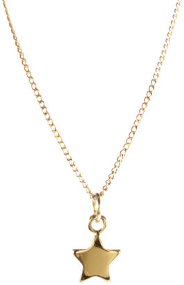 ASOS Mini Star Pendant - Gold Pendant Necklaces