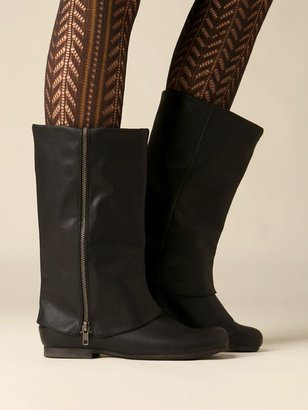 Zip Fold Over Boot - Freepeople