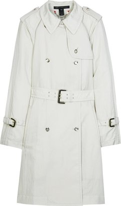 Marc By Marc Jacobs Nylon Trench Coat - Khaki Trench Coats