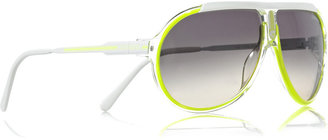 Carrera Endurance aviator acetate sunglasses - Funky Fluorescent Finds