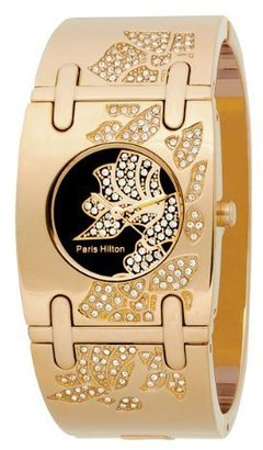 Paris Hilton Women's 138.4457.60 Bangle Black Dial Watch - Wild Watches