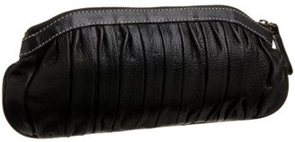 Latico MG Bellwether Pleated Clutch - Clutches