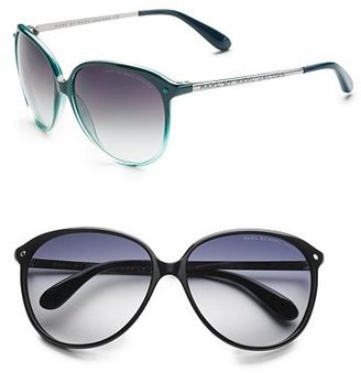 Marc by Marc Jacobs Medium Rounded Sunglasses - Marc Jacobs Sunwear