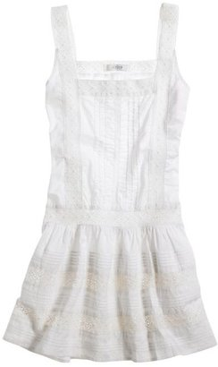 Aerie Lace Trim Crochet Dress - Clothes