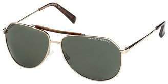 A|X Armani Exchange Sunglasses, Metal Aviator - Aviator Sunglasses
