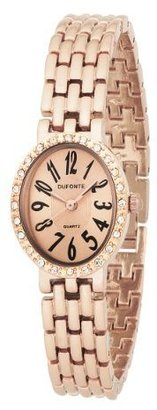 Dufonte Women&#39;s 73054RO Rose Gold-Tone Panther Link Watch - Rose Gold Watches