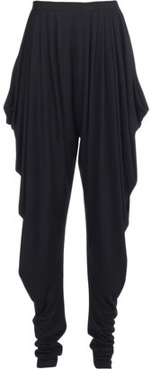 Halston Jersey harem pants - Dress Like Rihanna
