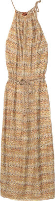 Missoni Camargue Lurex-knit maxi dress - Rebecca Minkoff&#39;s Easy Style