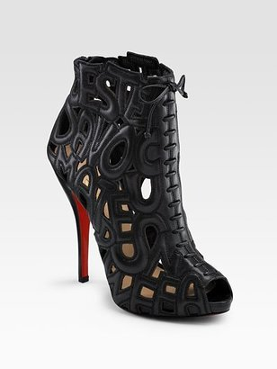 Christian Louboutin Let Me Tell You Ankle Boots - Christian Louboutin