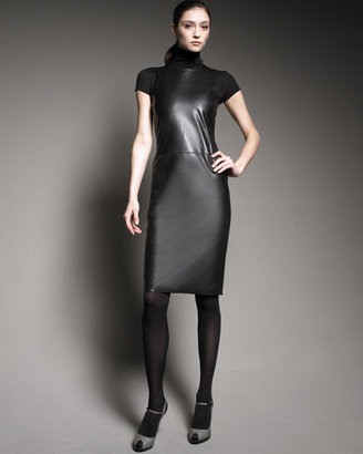 Ralph Lauren Leather-Front Dress - Clothes