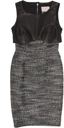 Jason Wu Leather Bib Dress - Futuristic Fashion