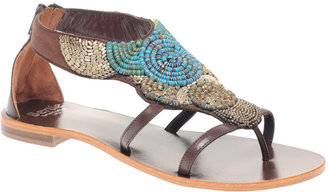 Bertie Faro Beaded Sandals - Shoes