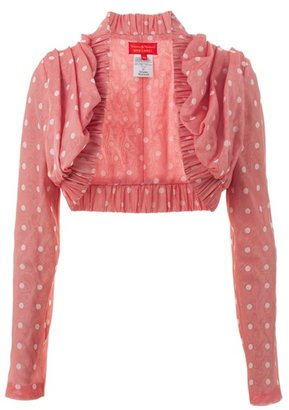 VIVIENNE WESTWOOD RED LABEL - Polka dot shrug - Sassy Shrug Sweaters