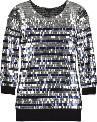 Joseph Sailor sequined sweater - Sequined Sweaters
