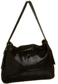 Latico Lizard Slouchy Shoulder Bag - Leather Shoulder Bag
