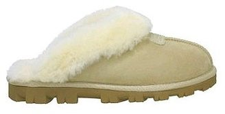 UGG Australia &quot;Coquette&quot; Sand Suede Furry Slipper - Casual Shoes